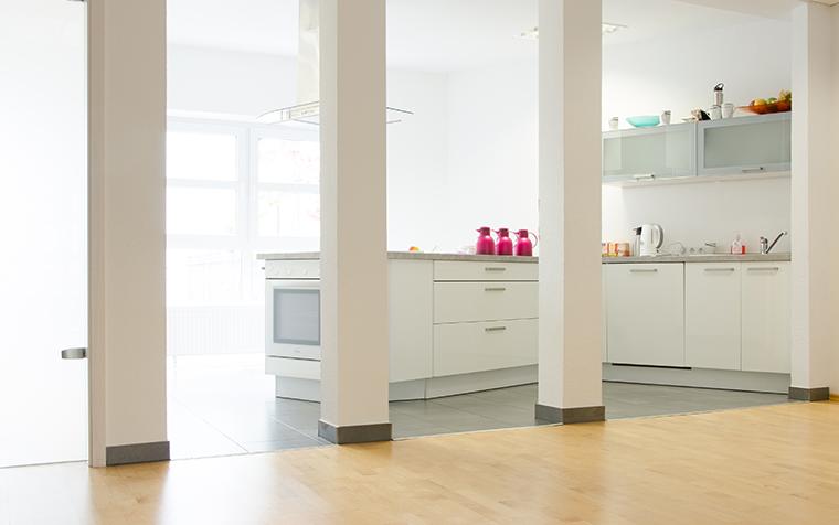Küche bei Räumlichkeiten der Yoga Ausbildung in Frankfurt im Vitaliq